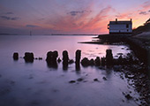 Groyne by the Watch House at Lepe 