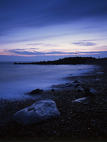 Coast : Keyhaven at Dusk
