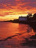 Lepe Watch House at Sunset  