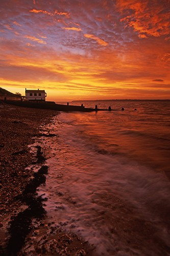 Coast : Sunrise at Lepe